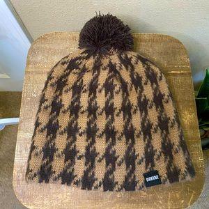 Dakine Houndstooth Pom Pom Beanie Hat